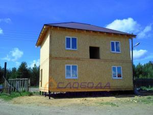 Дом из SIP-панелей в Республике Коми