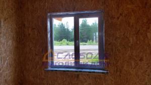 Окно в доме из SIP-панелей
