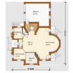 Планировка дома двухэтажного