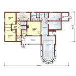 Планировка дома одноэтажного
