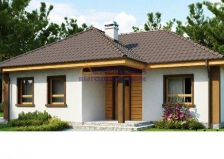 Дом одноэтажный из сип панелей